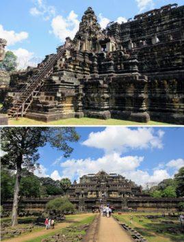 3層からなる山岳型の寺院「バプーオン」