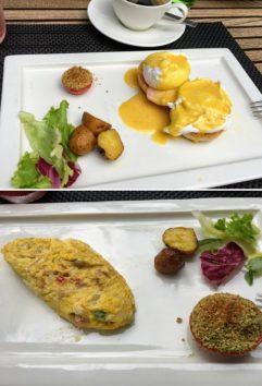 美味しかった「シンタマニ・シャック」の朝食(Photo by 朝比奈)