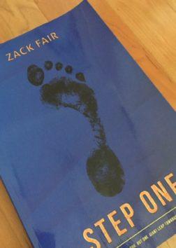 ザックが執筆した書籍『Step One』