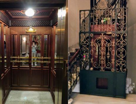 なんと美しいエレベーター(Photo by 朝比奈)
