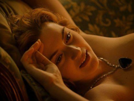 美しい彼女を、さらにゴージャスに魅せた「Heart of the Ocean」。