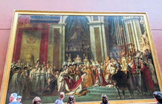 ナポレオン1世の戴冠式(ジャック・ルイ・ダヴィッド)