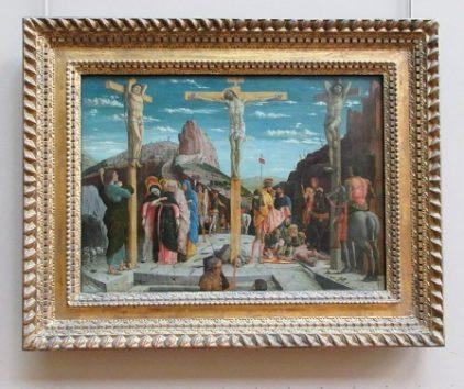 カルヴァリオの丘/キリストの磔刑(アンドレア・マンテーニャ)
