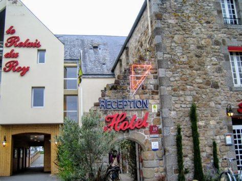 ル・ルレ・デュロワは美味しいレストランを持つホテル(Photo by 朝比奈)