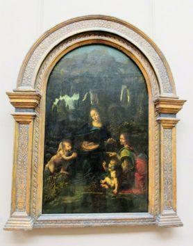 岩窟の聖母(レオナルド・ダ・ビンチ)