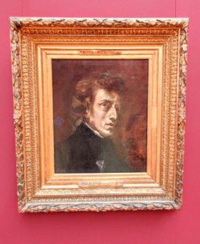 ショパンの肖像(ウジェーヌ・ドラクロワ)