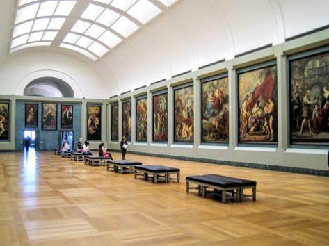 フランス王妃マリー・ド・メディシスの生涯がテーマのルーベンス・ギャラリー
