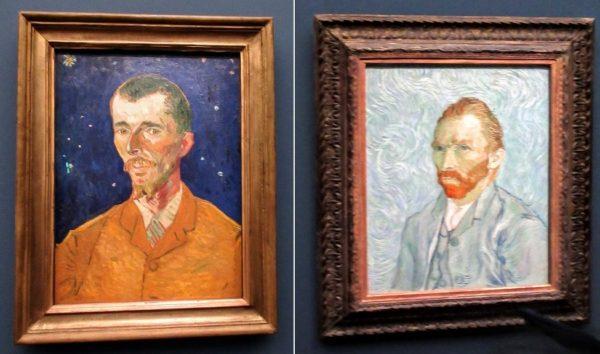 ウジェーヌ・ボックの肖像とゴッホ自画像(フィンセント・ファン・ゴッホ)