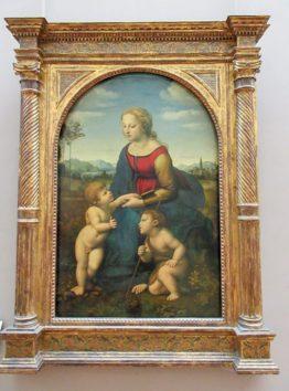 聖母子と聖ヨハネ(ラファエロ・サンティ)