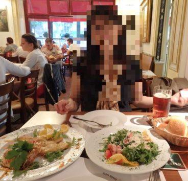 ハンブルクではシーフード料理ばかりを堪能(Photo by 朝比奈)