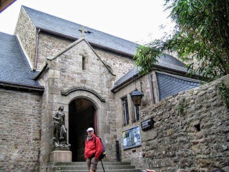 モンサンミッシェルのサンテティエンヌ教会(Photo by 朝比奈)