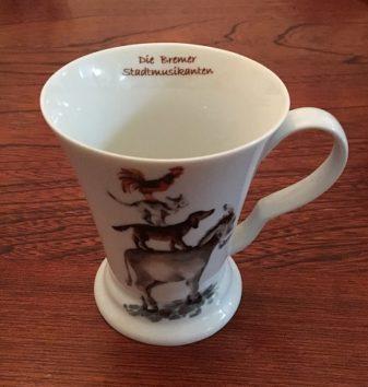 ブレーメンで買ったマグカップ(Photo by 朝比奈)