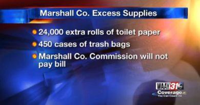 男所帯の保安官事務所がトイレットペーパーを24,000ロールも購入