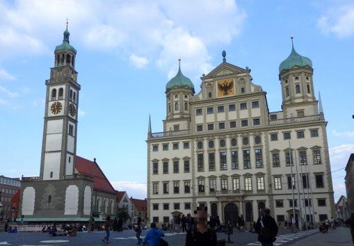 アウグスブルク市庁舎(Photo by 朝比奈)