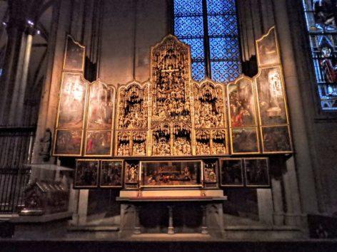 ケルン大聖堂の祭壇画