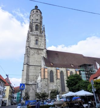 ネルトリンゲンの聖ゲオルク教会(Photo by 朝比奈)