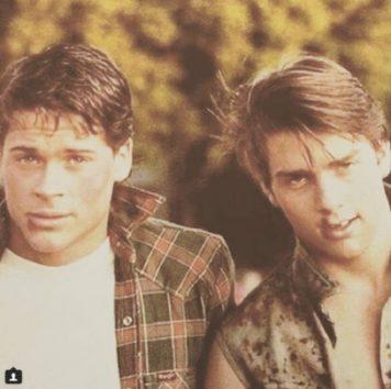 若かりし日のロブ&トム。