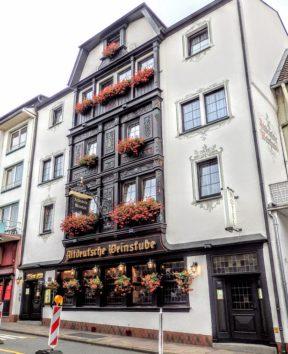 Hotel & Restaurant Altdeutsche Weinstube(Photo by 朝比奈)