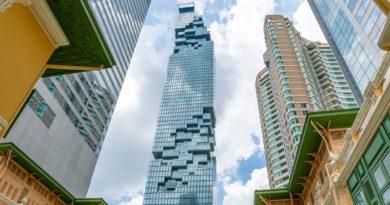 実にユニークな超高層ビルがバンコクに誕生
