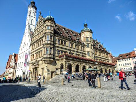 ローテンブルク市庁舎(Photo by 朝比奈)