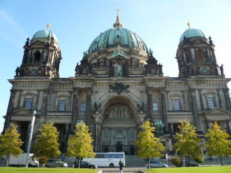 ベルリンのステイで大聖堂へ(Photo by 佐藤めぐみ)