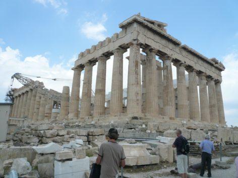 ギリシャのステイで(Photo by 佐藤めぐみ)