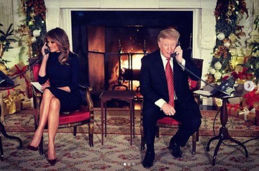 トランプ大統領、プレゼント交換は苦手?