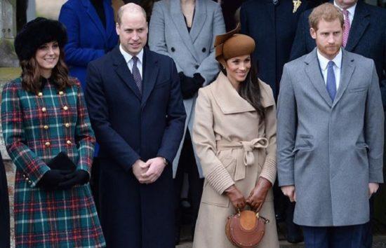 確執を噂されているウィリアム王子夫妻&ヘンリー王子夫妻