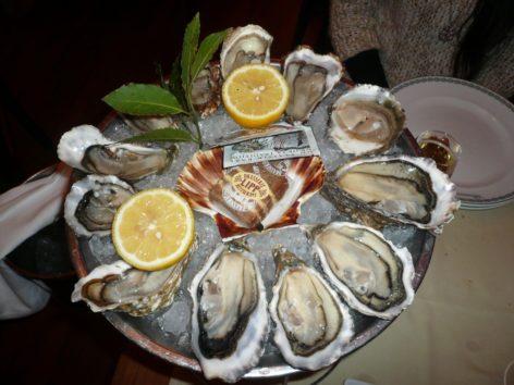 ジュネーブのステイで牡蠣を堪能(Photo by 佐藤めぐみ)