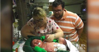 米テキサス州で6.72kgもの男児が誕生