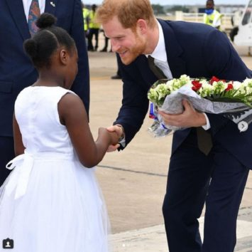 優しい笑顔が素敵なヘンリー王子。