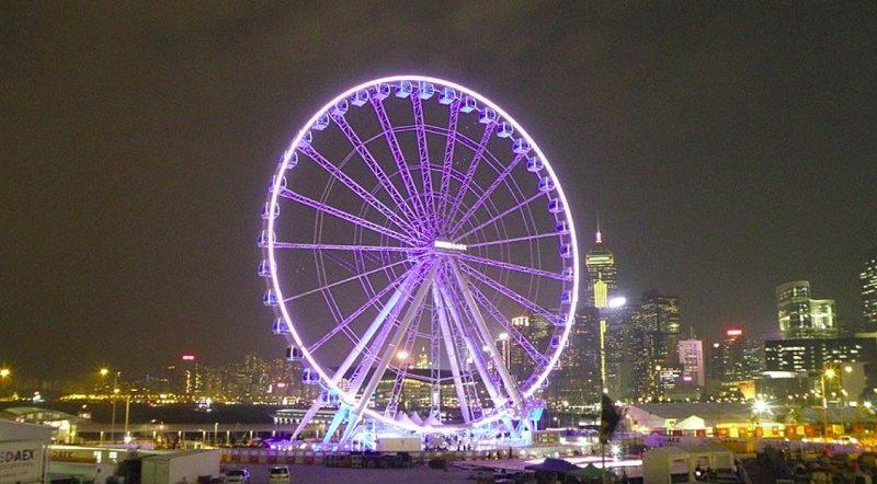 香港観覧車が故障。完成わずか4年で不具合が発生