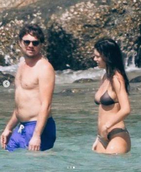 レオとモデルの恋人、プーケット島で激写される