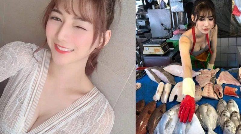 台湾で魚を売る女性が美しすぎると話題に