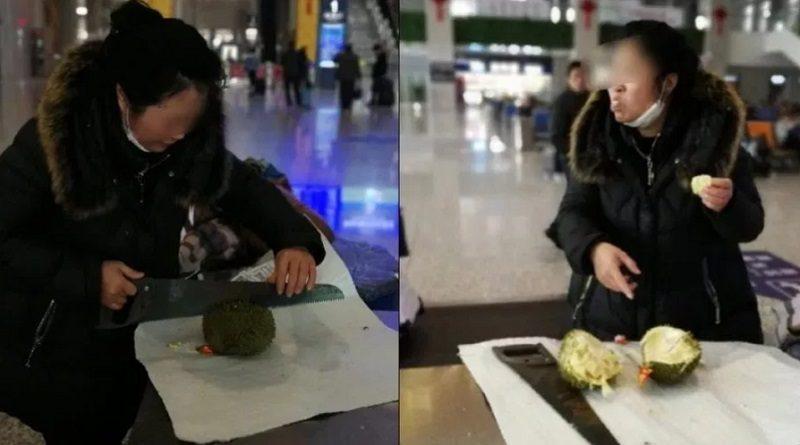 すでに中国でも有名になっているドリアンの臭さ
