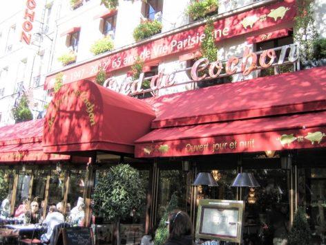 パリのステイでビストロ「Au Pied de Cochon」に(Photo by 佐藤めぐみ)