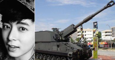 軍事演習中の事故で俳優アロイシャス・パンさんが急逝