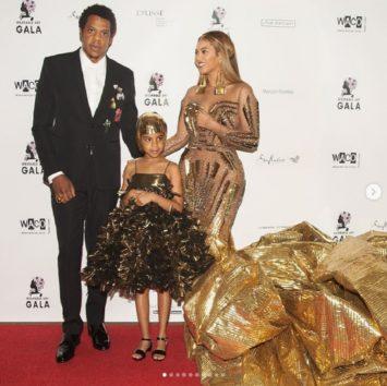 Jay-Zとビヨンセ ~ 長女はパパ似?