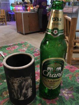 changビールを何本飲んだことか(Photo by 朝比奈)