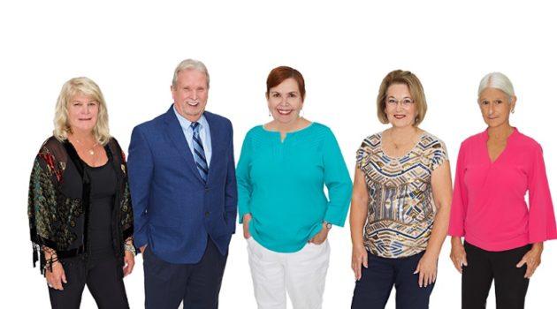 フロリダのハレンチ女性議員(一番左)