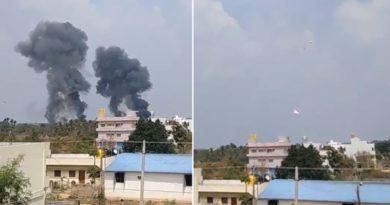 パイロット3名が死傷