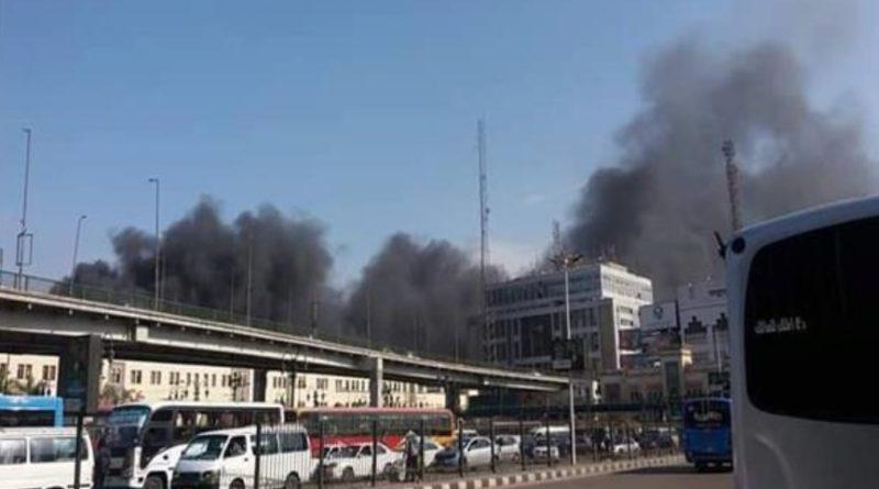 エジプト・カイロの「ラムセス駅」で大火災