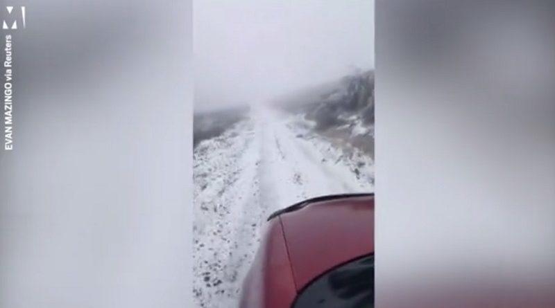 マウイ島に雪が降る