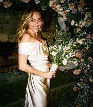ヤンチャだったマイリーがこんなに美しく。