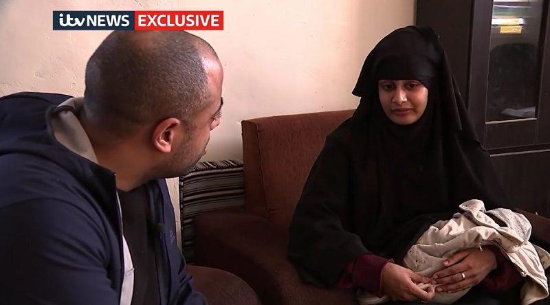 「英国で役に立てるのに」と不満をもらすシャミマ・ベグムさん。itv Newsとの独占インタビューで