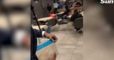 画像:2019/02/11に公開YouTube『The Sun-Man releases a RAT in McDonald's 'because of wrong order'』のサムネイル