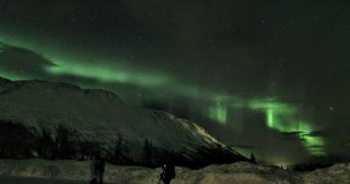 <世界旅紀行>『北欧オーロラ鑑賞』その2 念願かなってオーロラをわが目で見る!
