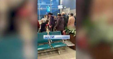 画像:2019/03/23に公開YouTube『Вести Севастополь-Голый мужчина беспрепятственно прошёл на рейс Москва-Крым』のサムネイル