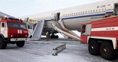 中国国際航空の旅客機、ロシア厳寒の地に緊急着陸