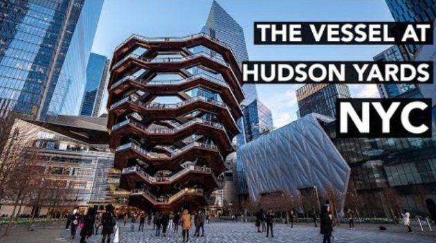 画像:2019/03/25に公開YouTube『MarlonPT-THE VESSEL AT HUDSON YARDS | NEW YORK CITY'S NEWEST ATTRACTION』のサムネイル